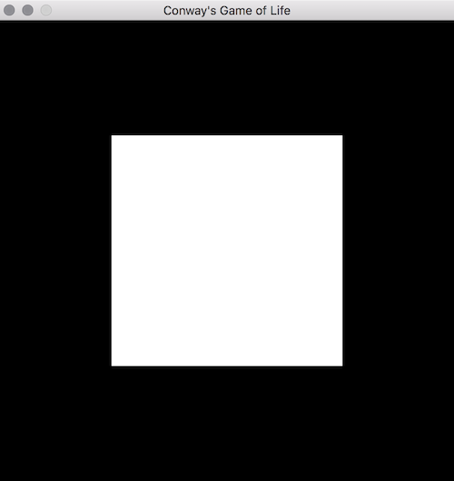 Conway's Game of Life in OpenGL and Golang Tutorial - Two Triangles Make a Square