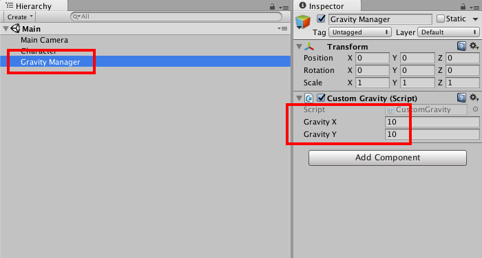 Customizing (or Disabling) the Global Gravity in Unity